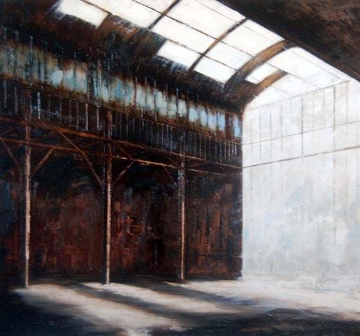 Peinture Atelier 110 x 100 cm