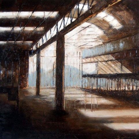 Peinture Atelier 80 x 80 cm