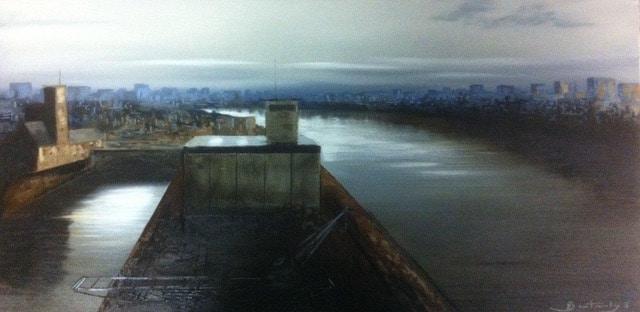 Peinture Port de Bâle