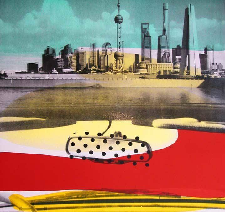 Lithographie Tony Soulié