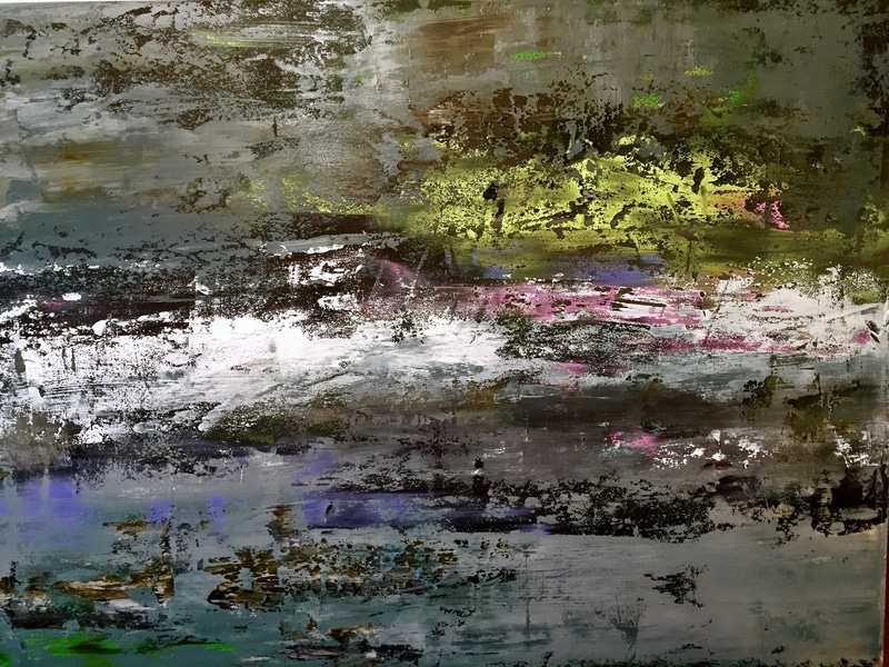 Peinture acrylique Gris Nicole Thierbach