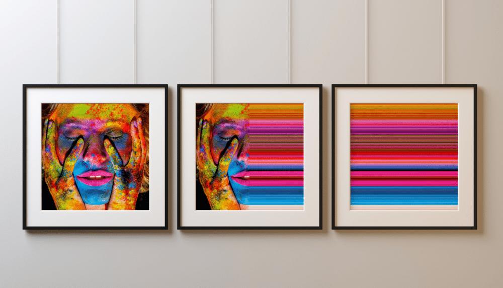 GERARD DUMORA - Triptyque Holi