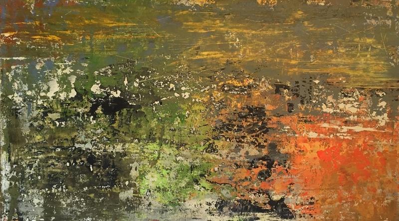 Peinture acrylique Vert Nicole Thierbach