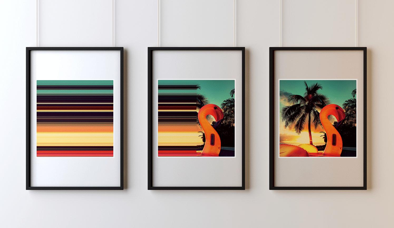 GERARD DUMORA - Triptyque Sunset