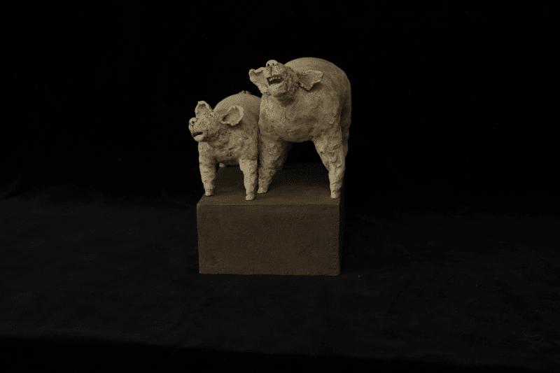 Sculpture Moutons