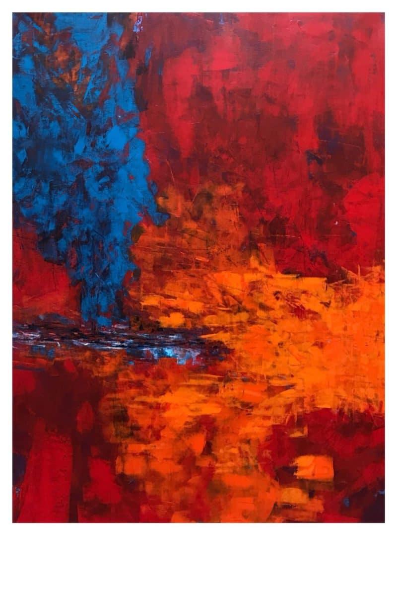 Peinture acrylique Nicole Thierbach