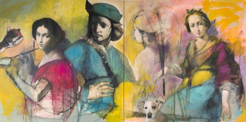 Peinture Kurt Mair