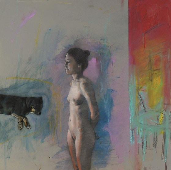 Peinture Kurt Mair 55 x 55 cm