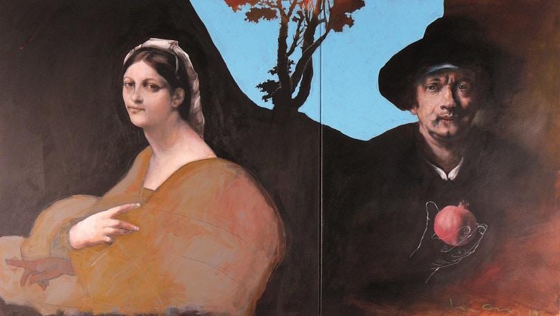 Peinture Kurt Mair 80 x 140 cm