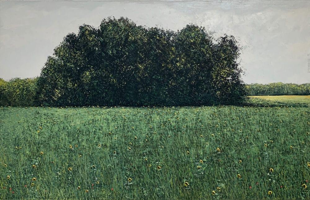 Peinture sur toile de Benoit Trimborn