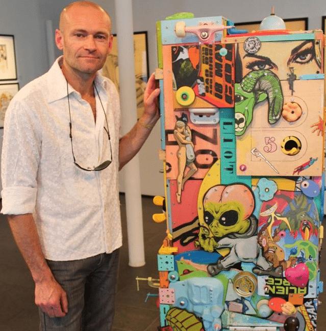 Artiste Eric Liot Atelier