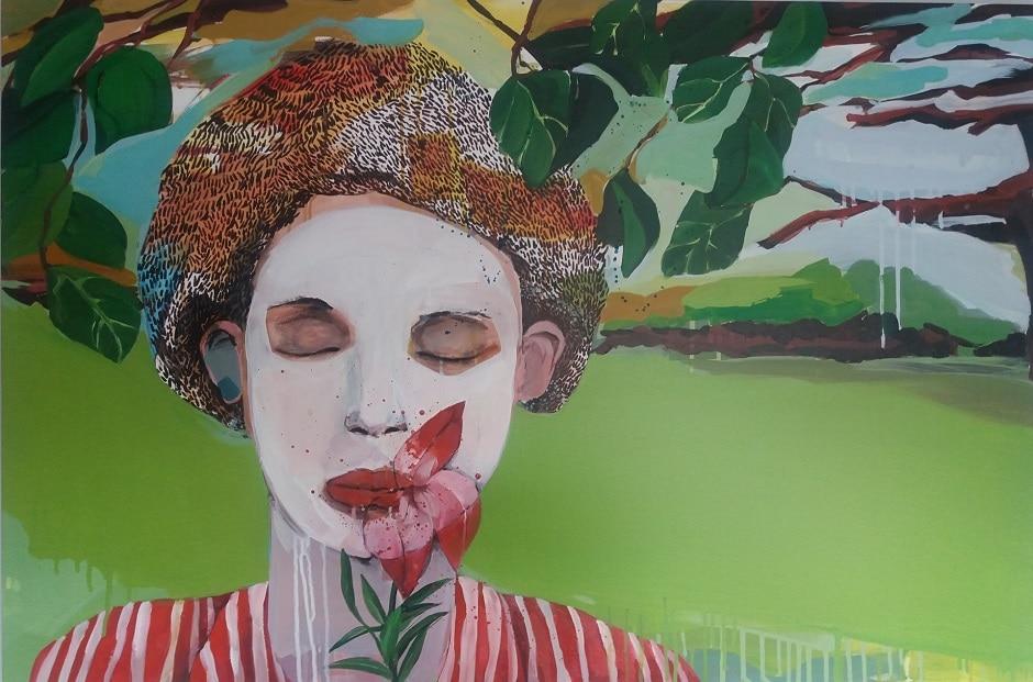 Golnaz Afraz peinture Cold Dream