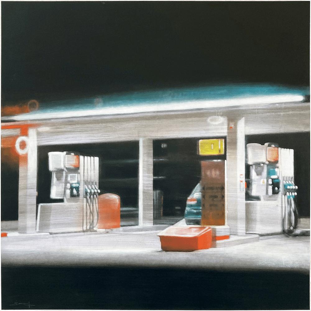 Philippe Saucourt peintures station service